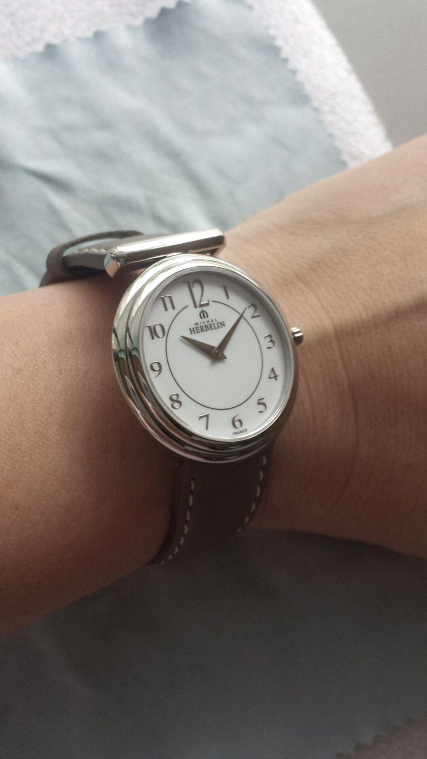 赫柏林17465/11TA手表【表友晒单作业】外观漂亮时...