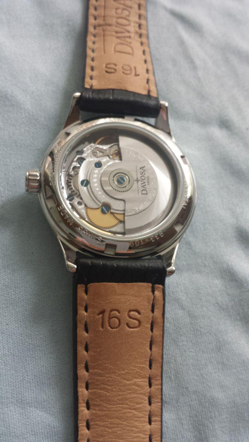迪沃斯16618315手表【表友晒单作业】手表带了几...