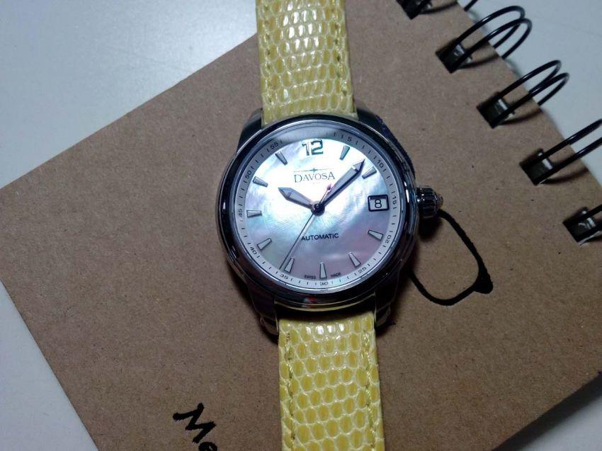 迪沃斯16618375手表【表友晒单作业】很活泼的一...