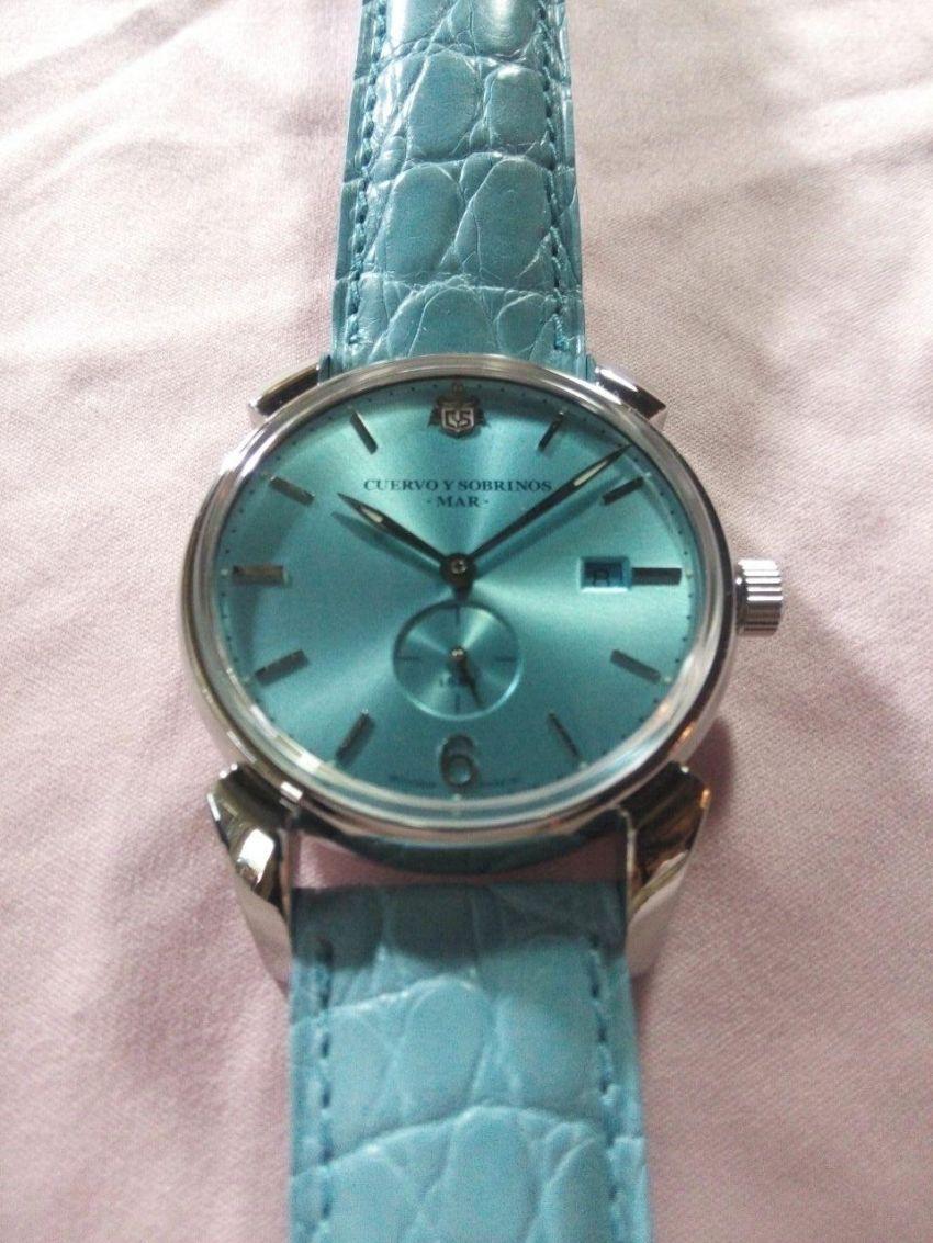 库尔沃3191.1MAR手表【表友晒单作业】手表很不错...