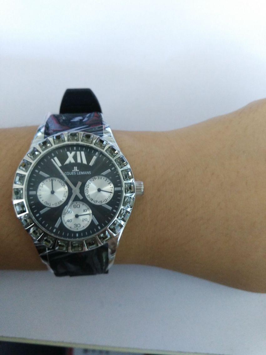 雅克利曼1-1627A手表「表友晒单作业」手表实物会...
