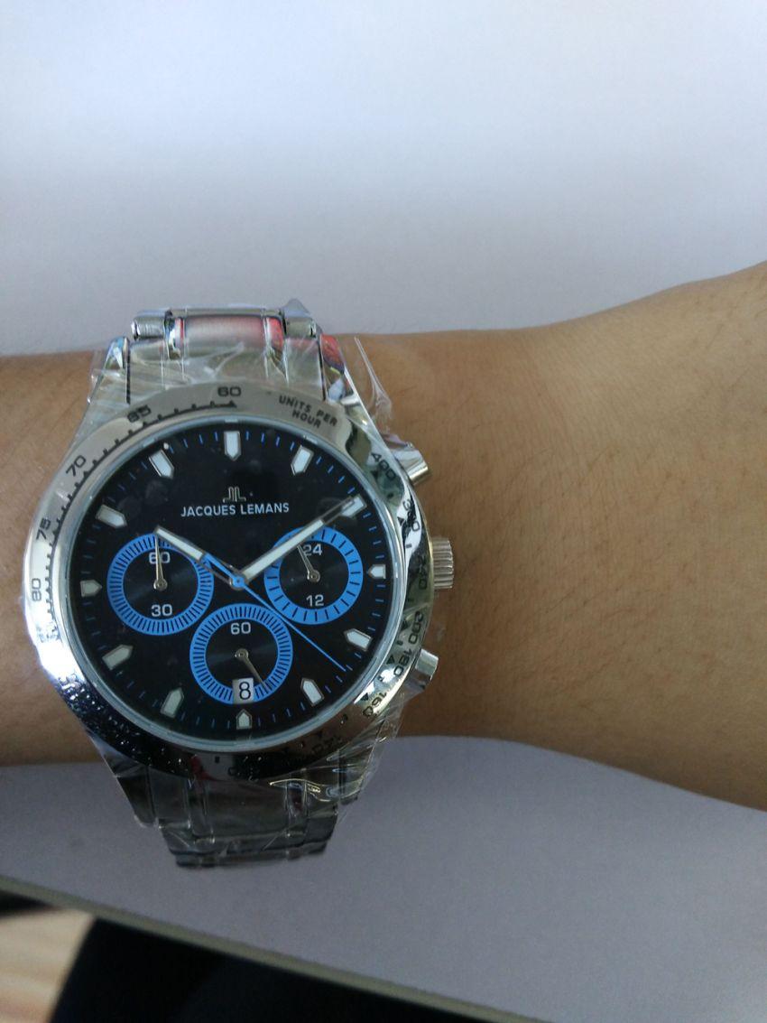 雅克利曼1-1631D手表【表友晒单作业】手表实物比...