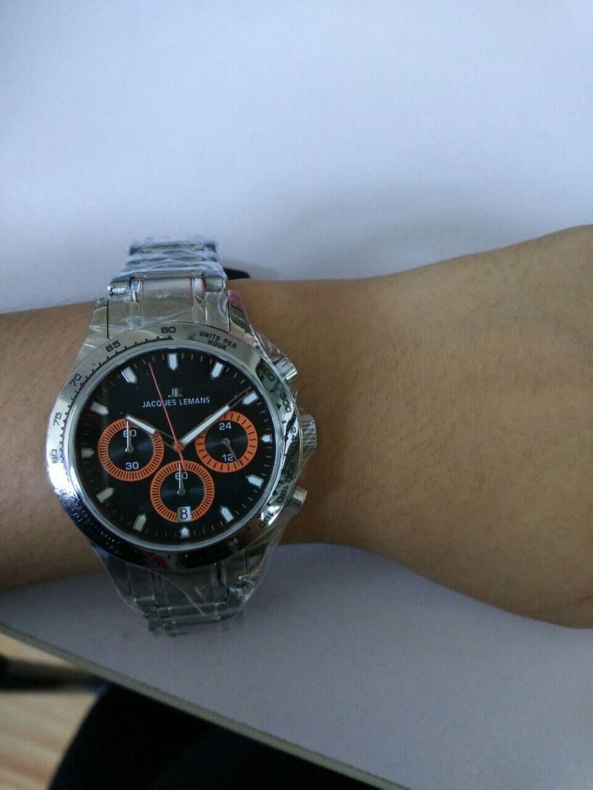 雅克利曼1-1631C手表「表友晒单作业」手表挺好看...
