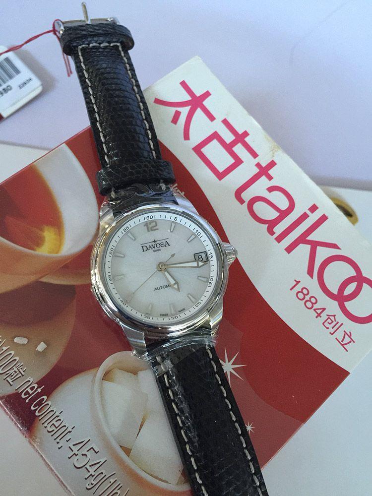 迪沃斯16618315手表【表友晒单作业】成功入手D...