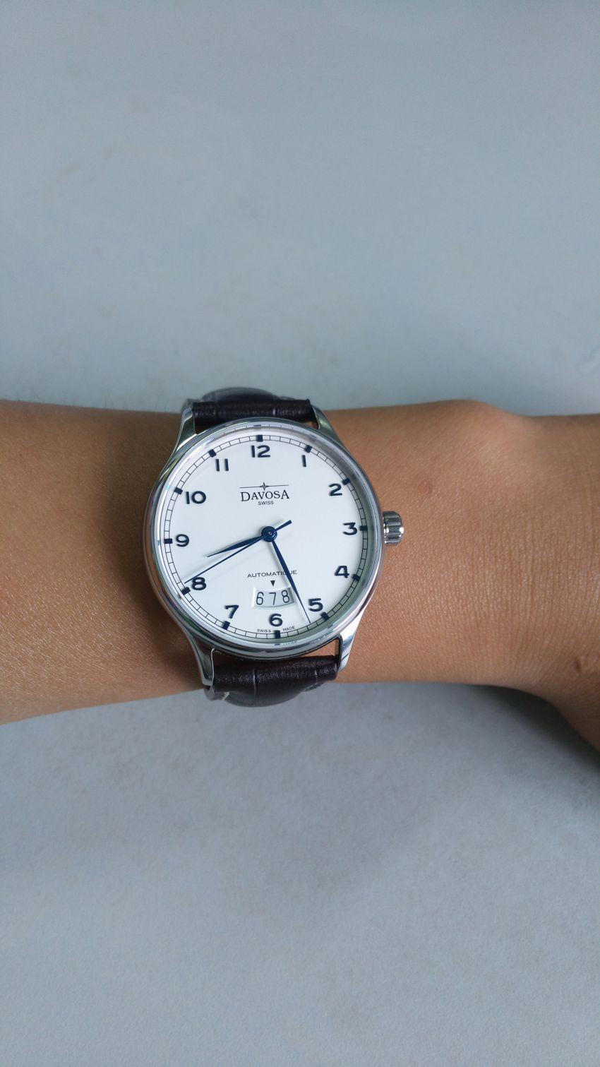 迪沃斯16145616手表【表友晒单作业】非常好。特...