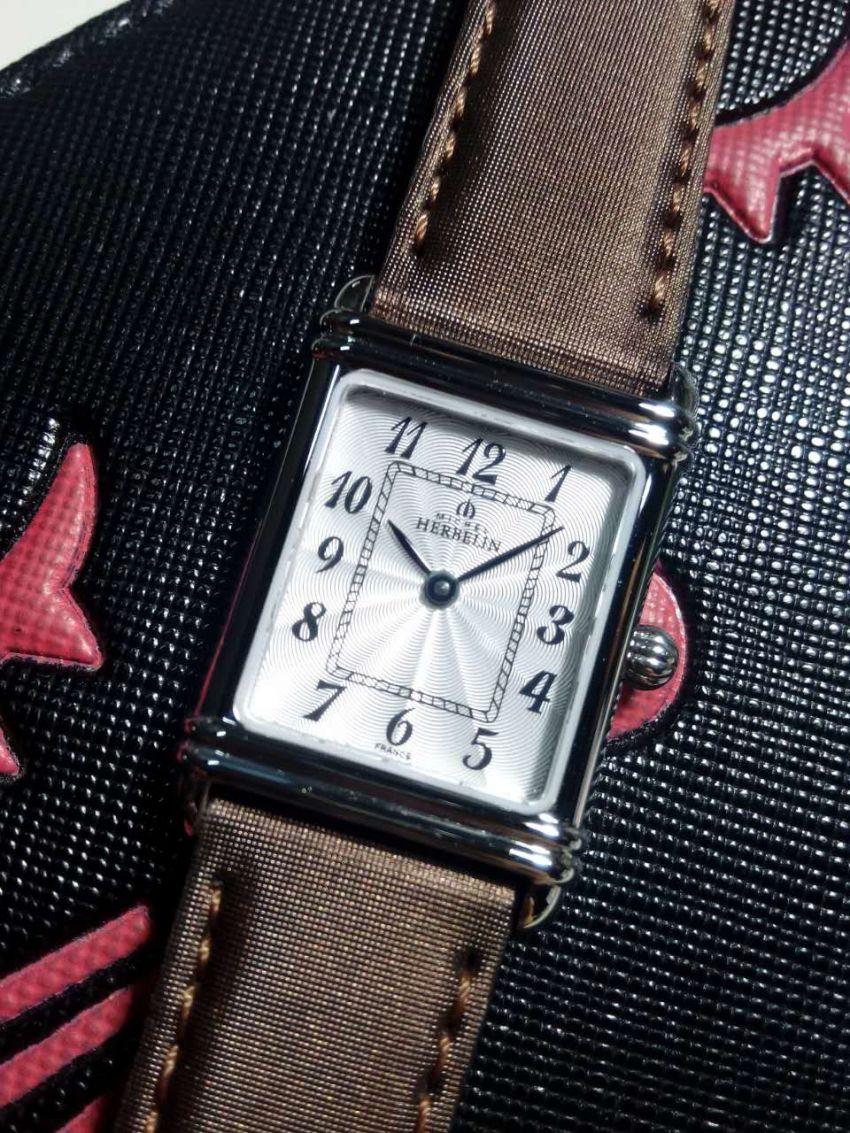 赫柏林17478/28SC手表【表友晒单作业】方形的表盘...