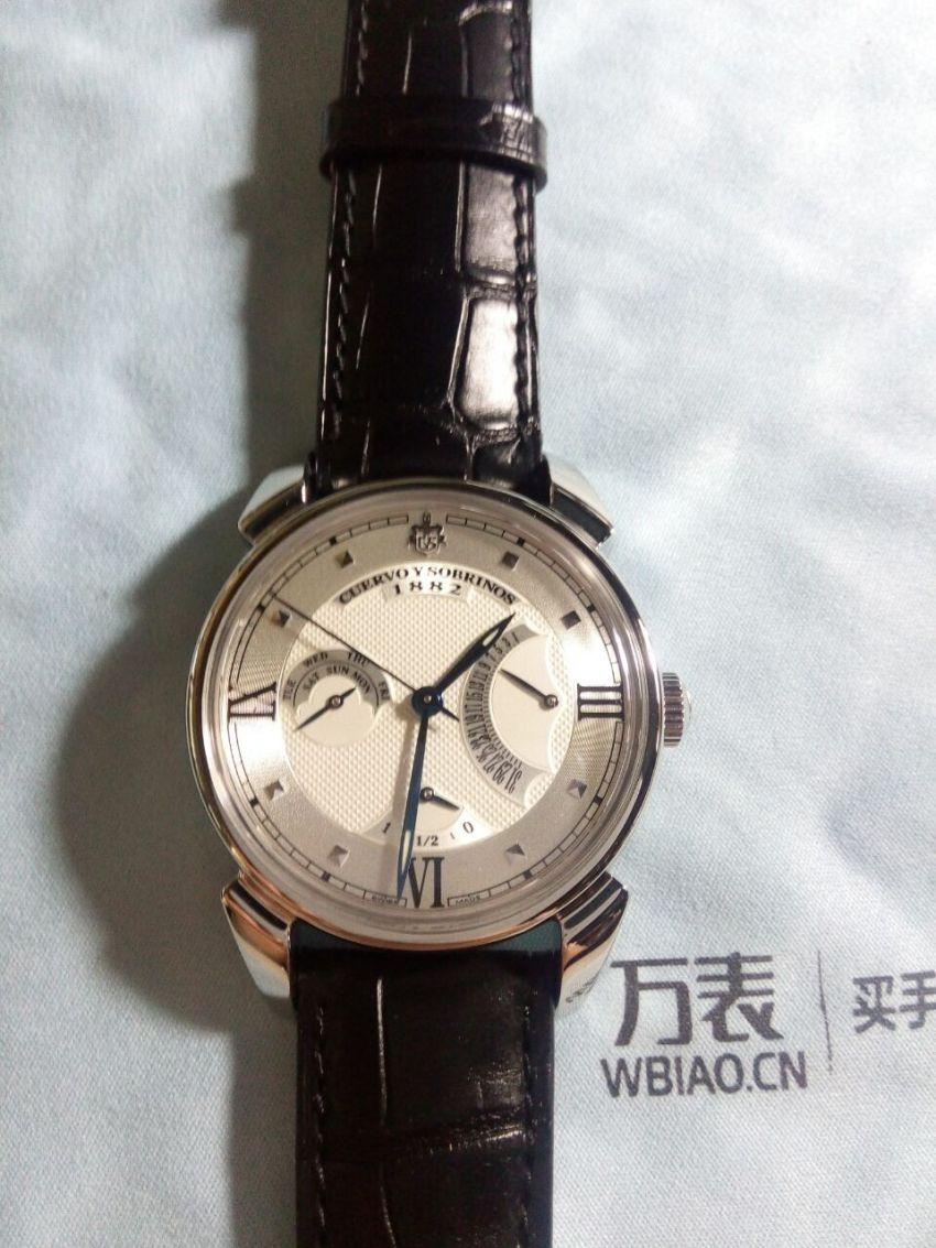 库尔沃3194.1A(黑色表带)手表【表友晒单作业】手表质量不...