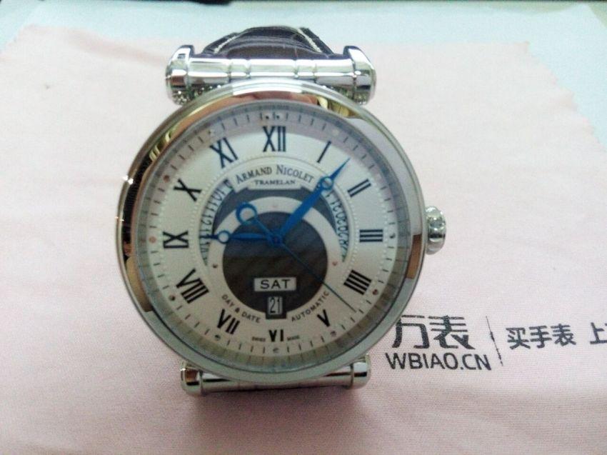 艾美达A420AAA-AG-MA2420AA手表【表友晒单作业】很精致的一...