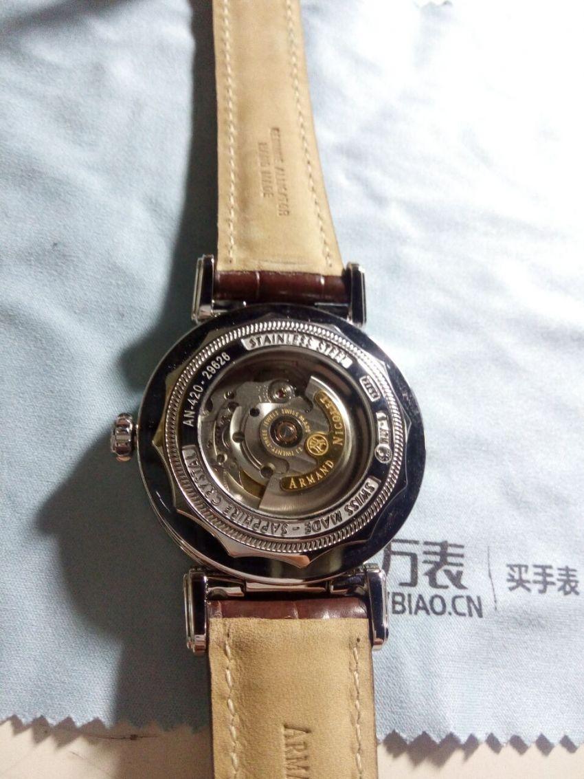 艾美达A420AAA-AG-P974MR2手表【表友晒单作业】不错,相当...