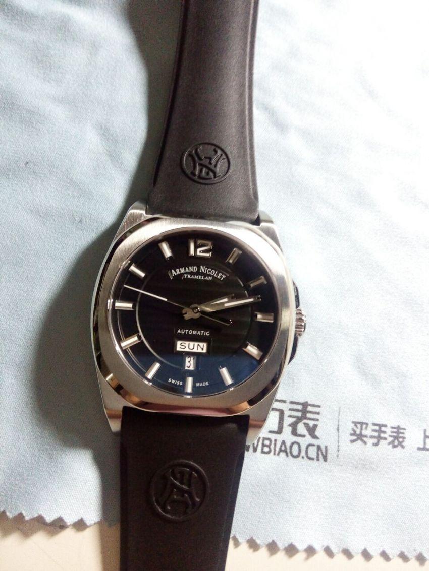 艾美达A650AAA-NR-GG4710N手表【表友晒单作业】实物很帅,...