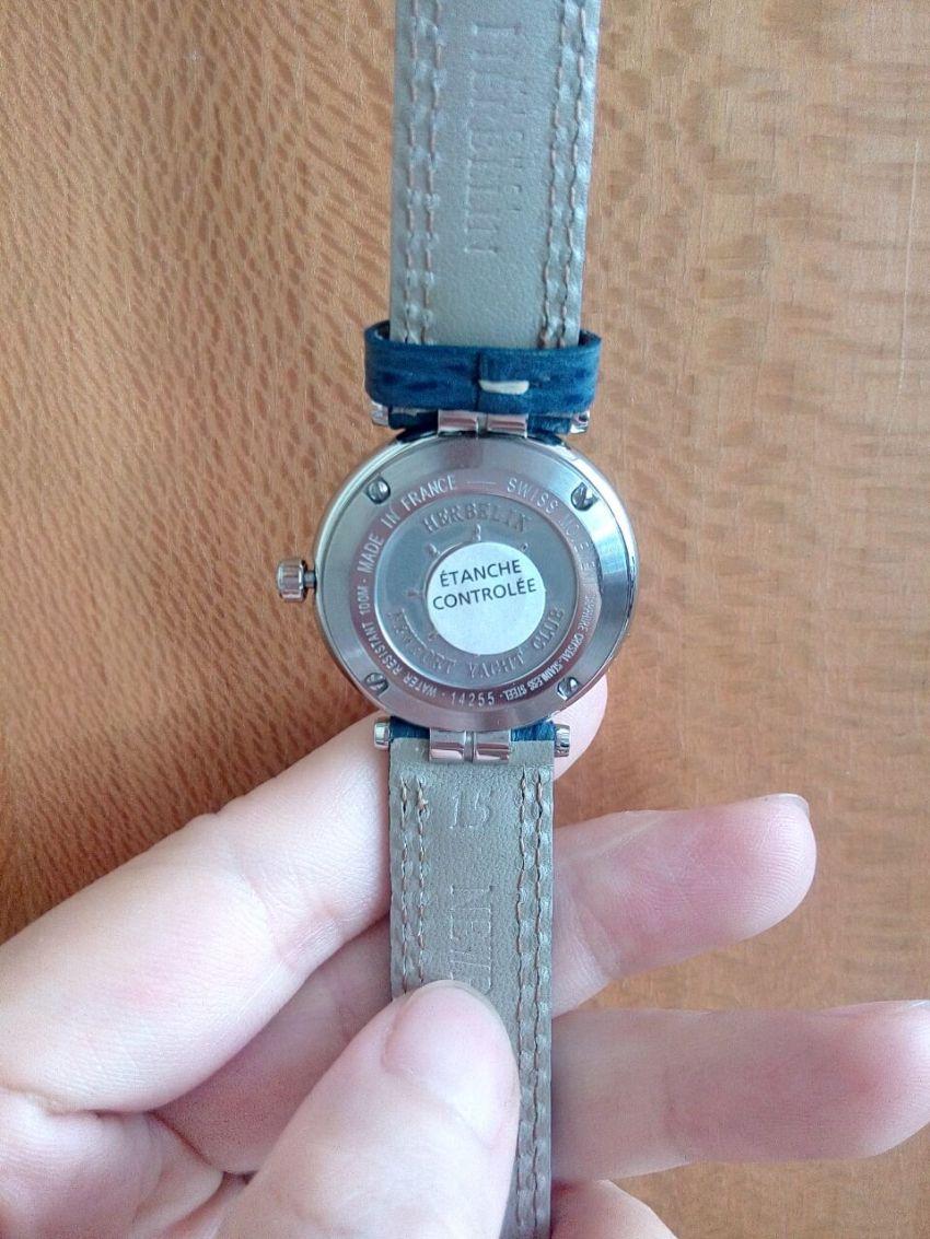 赫柏林14255/35手表【表友晒单作业】手表很好看...