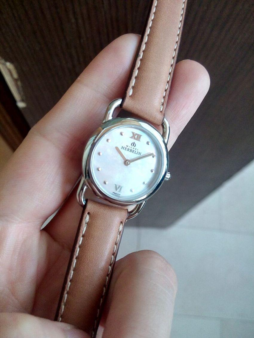 赫柏林17467/19GO手表【表友晒单作业】手表带了几...