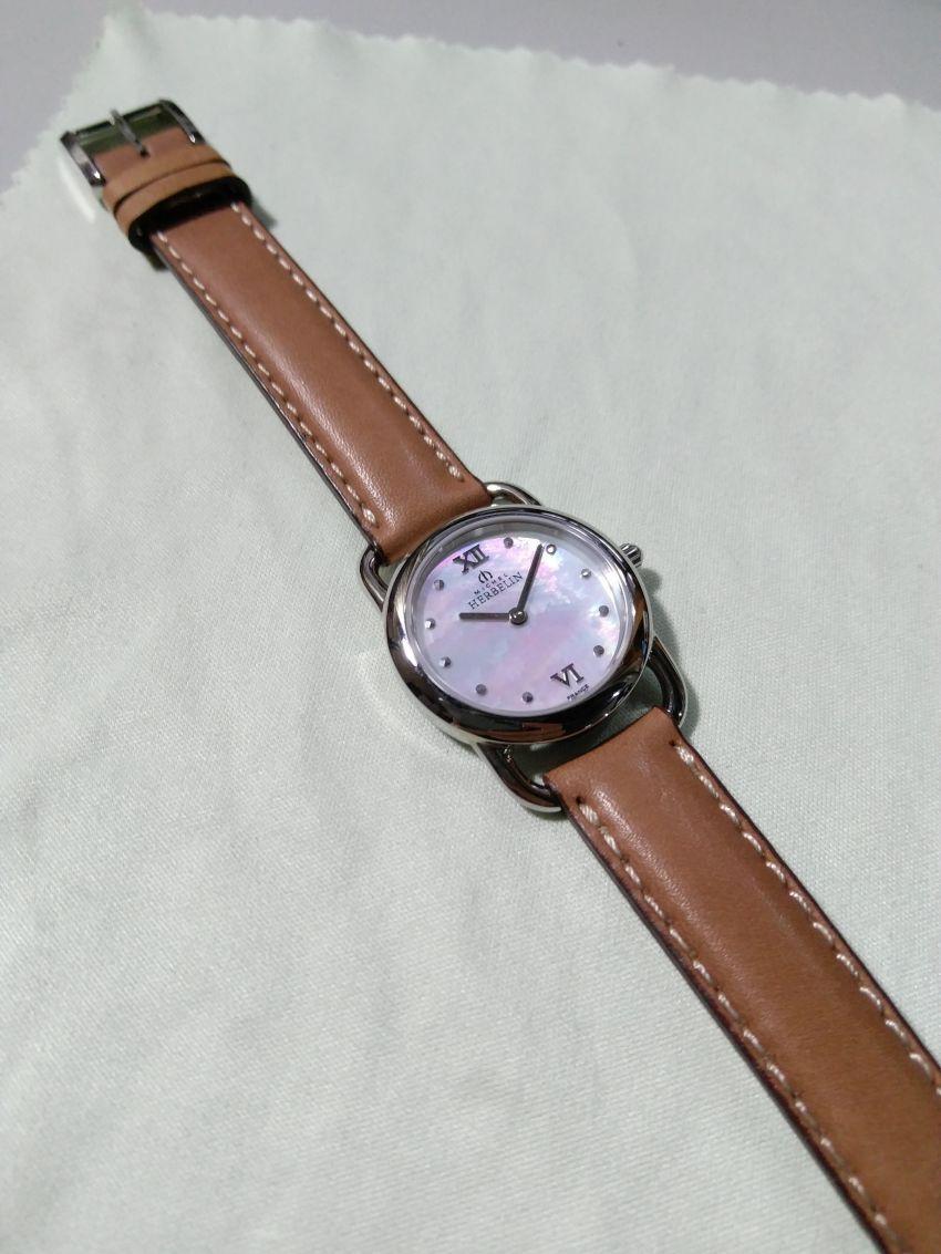 赫柏林17467/19GO手表【表友晒单作业】客服的手表...