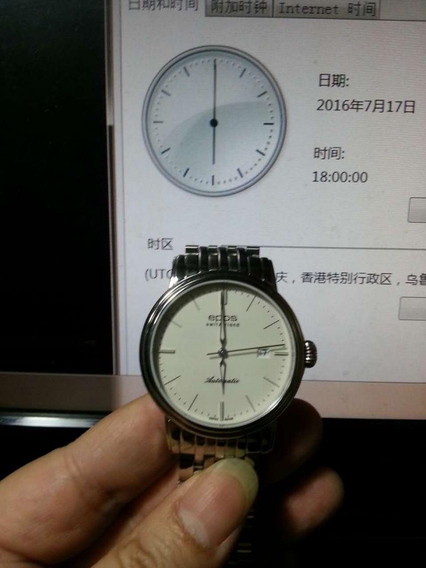 爱宝时3390.152.20.10.30手表【表友晒单作业】实在是没忍...