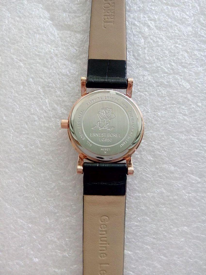 依波路LG850-5399BK手表【表友晒单作业】不错,小巧...