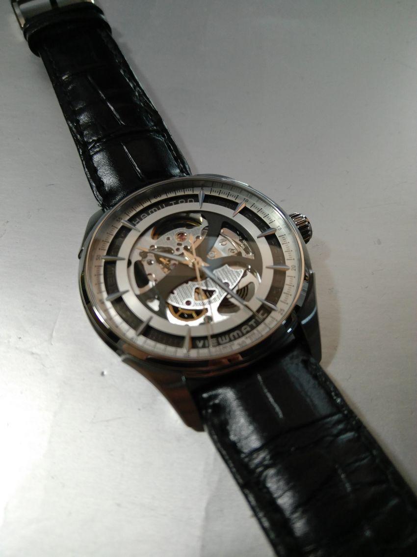 汉米尔顿H42555751手表【表友晒单作业】很喜欢这个...