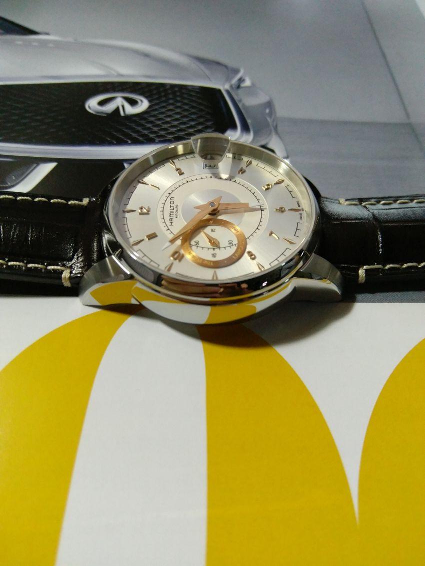 汉米尔顿H40615555手表【表友晒单作业】手表跟汽车...