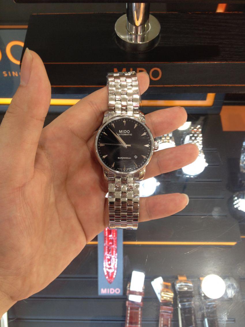 美度M8600.4.18.1手表【表友晒单作业】表已收到,...