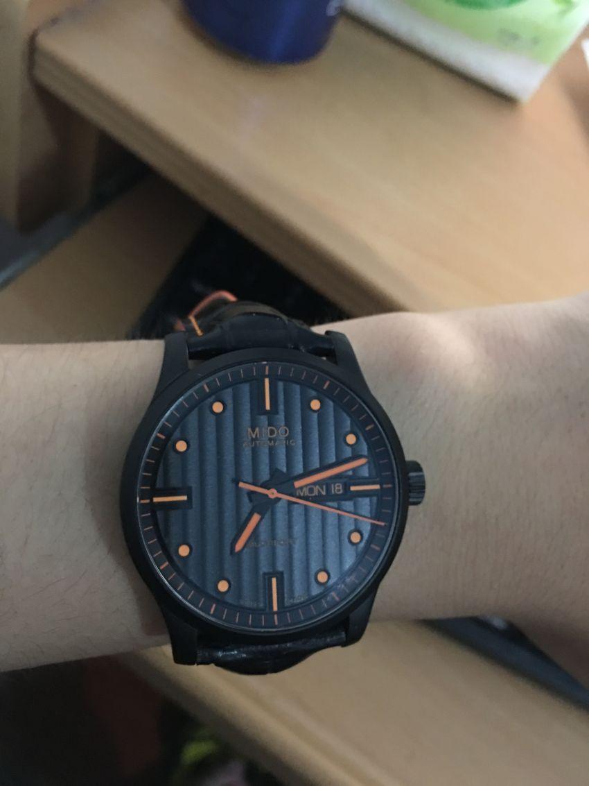 美度M005.430.36.051.80手表【表友晒单作业】手表很好看...