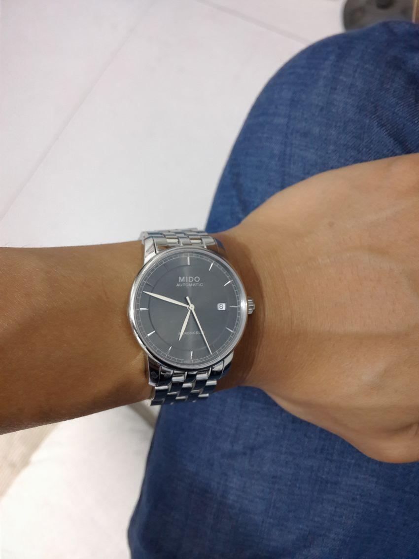美度M8600.4.13.1手表【表友晒单作业】佩戴半个多...