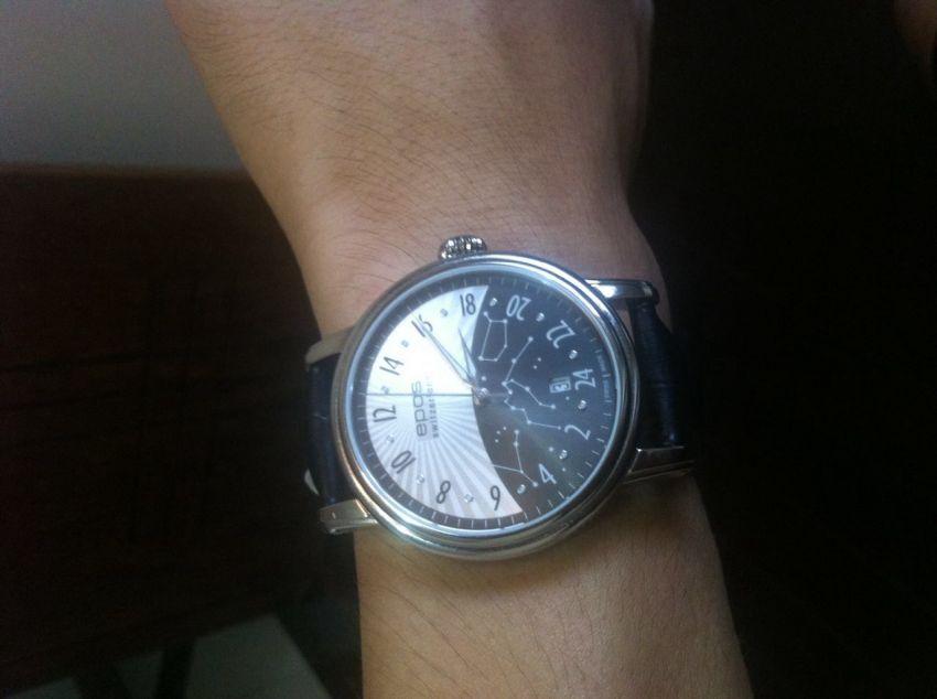 爱宝时3390.302.20.38.25手表【表友晒单作业】收到手表很...