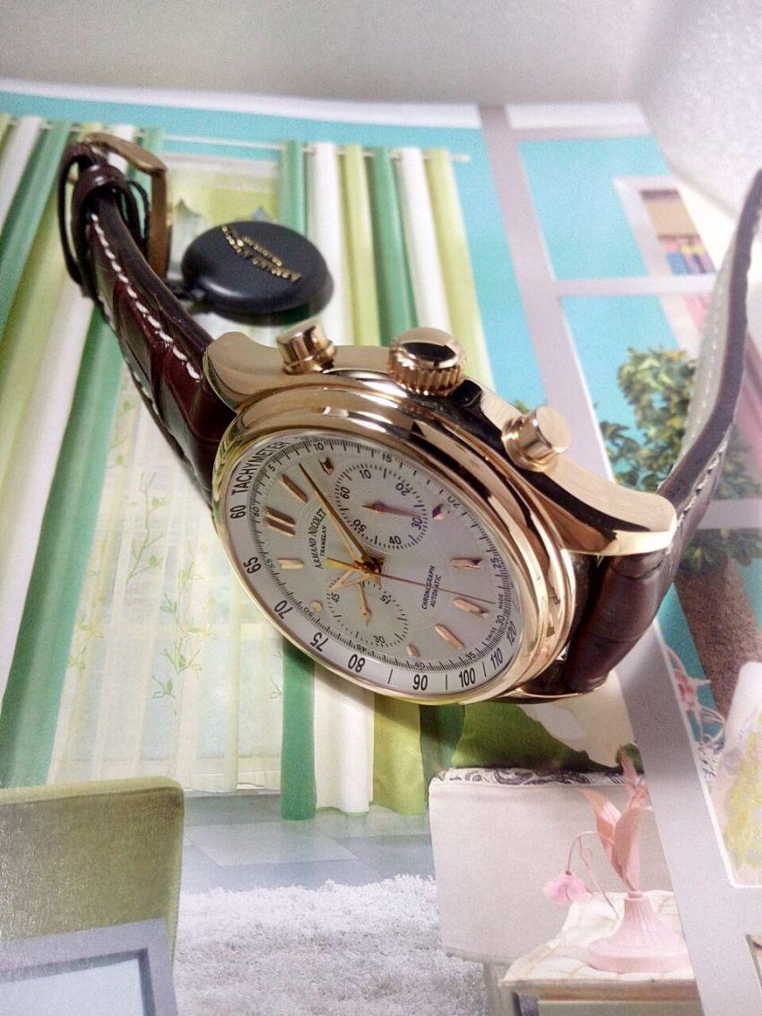 艾美达7144A-AG-P914MR2手表【表友晒单作业】不错,挺好...