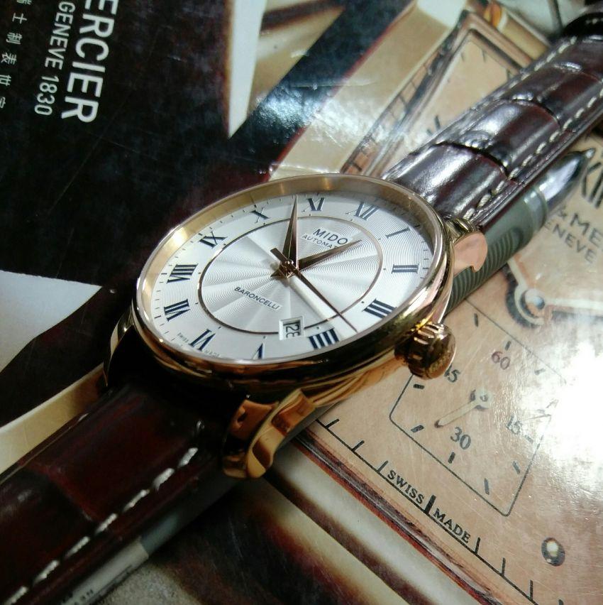 美度M8600.2.21.8手表【表友晒单作业】挺好的,不...