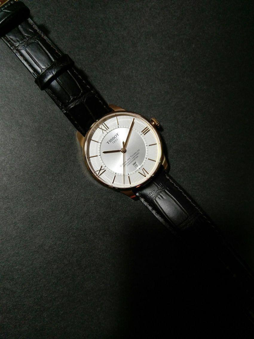 天梭T099.408.36.038.00手表【表友晒单作业】比专柜便宜...