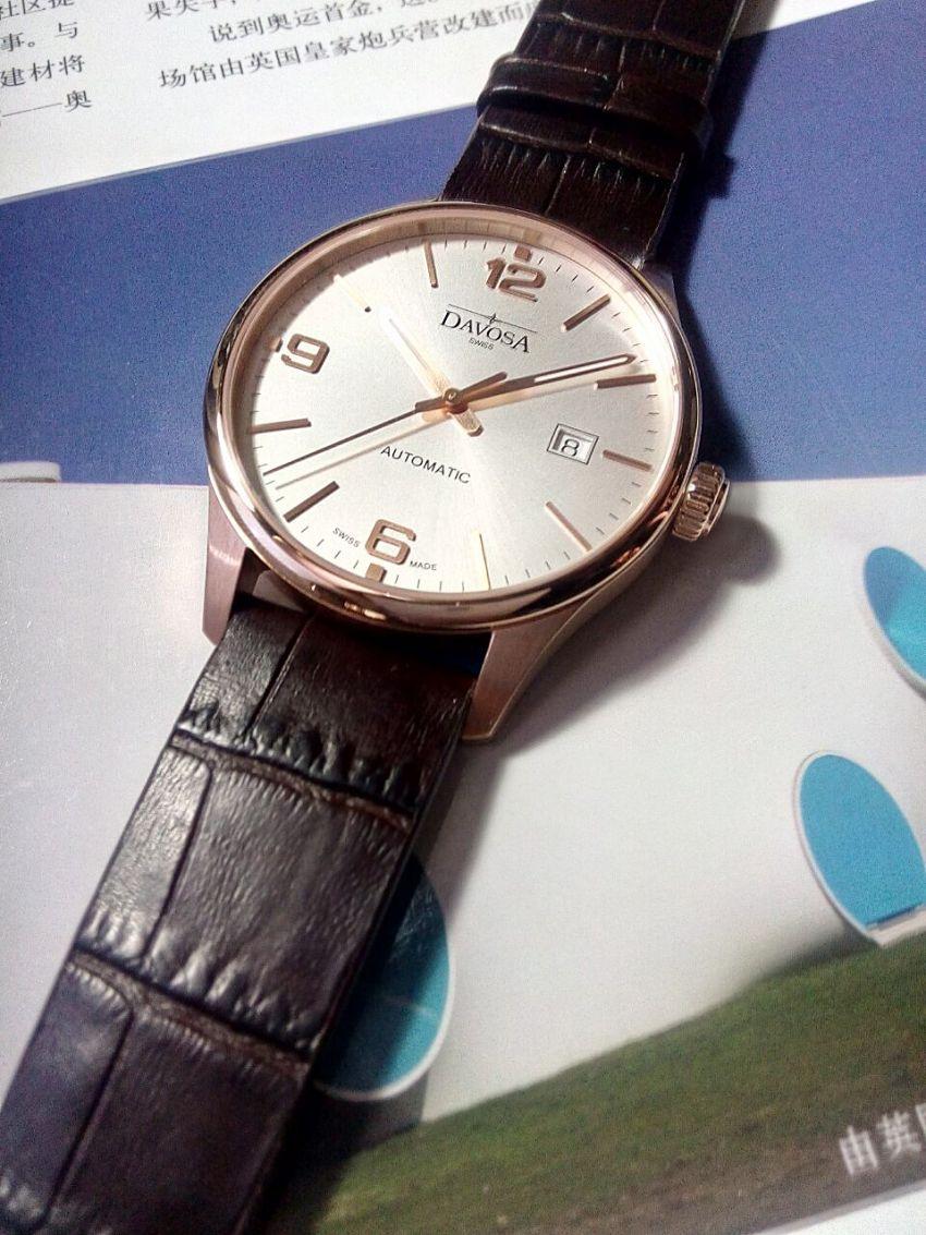 迪沃斯16156664手表【表友晒单作业】手表很好,...