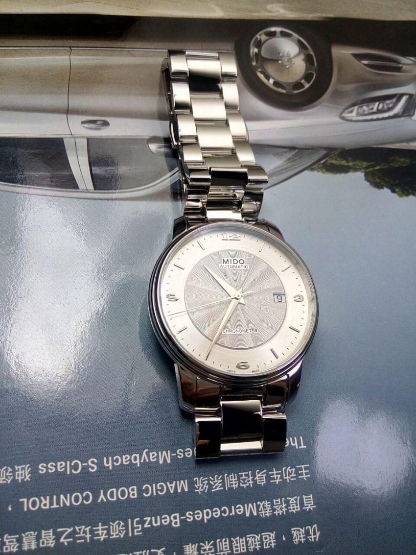 美度M010.408.11.037.00手表【表友晒单作业】手表的确是...
