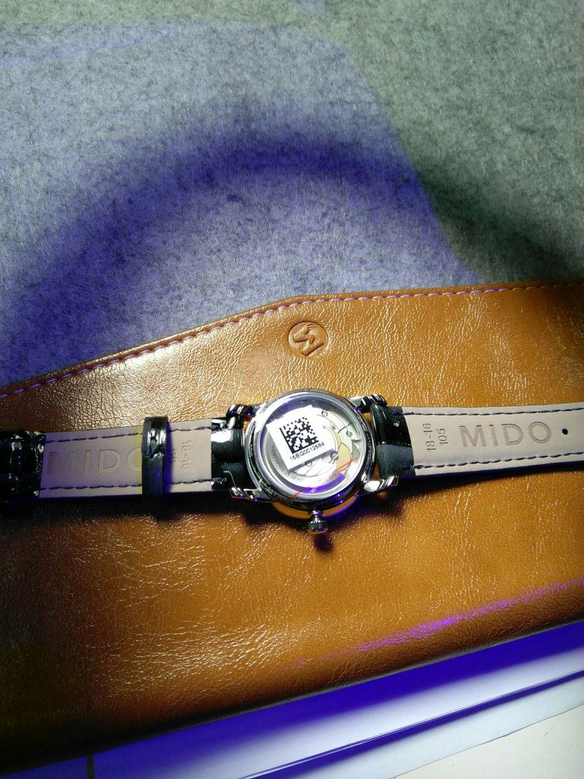 美度M007.207.16.036.01手表【表友晒单作业】钻石点缀的...