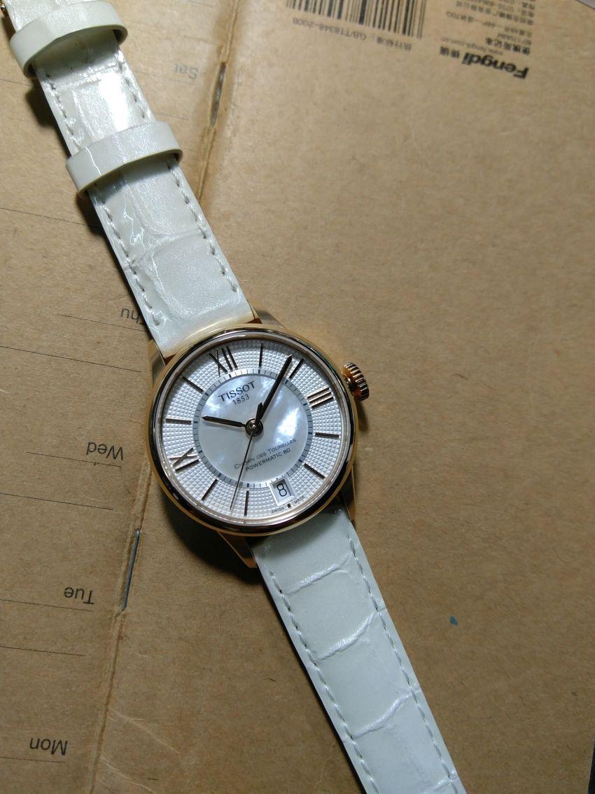 天梭T050.207.37.017.04手表【表友晒单作业】第一次在网...