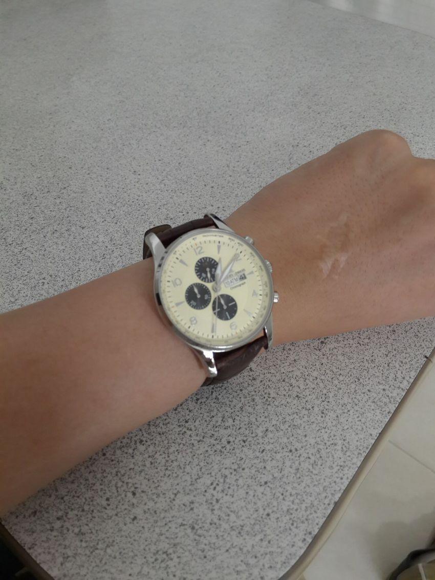 雅克利曼1-1844C手表【表友晒单作业】特地带了几...