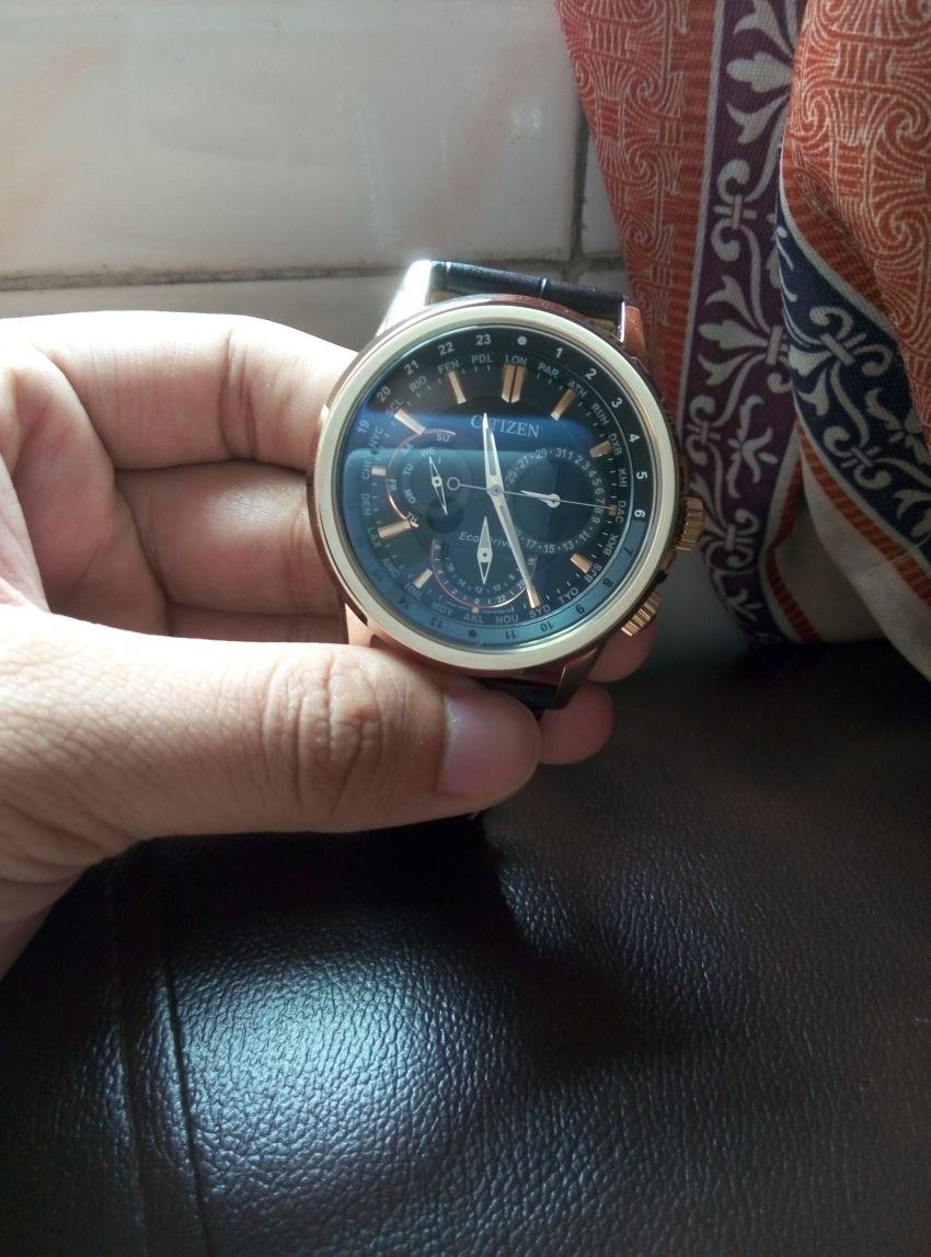 西铁城BU2023-12E手表【表友晒单作业】商品是正品...