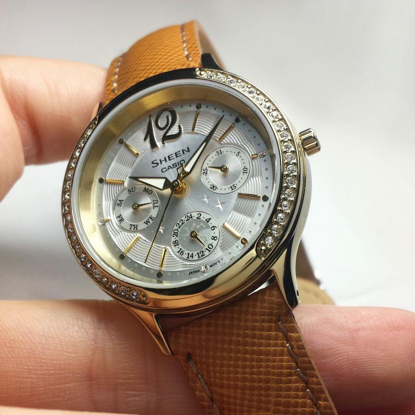卡西欧SHE-3030BGL-7AUPR手表【表友晒单作业】手表的确是...