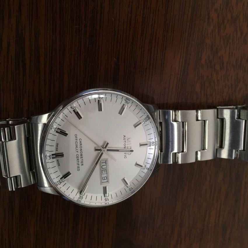 美度M021.431.11.031.00手表【表友晒单作业】第一次在万...
