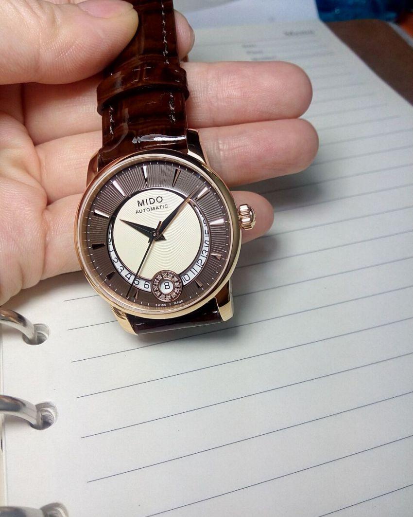 美度M007.207.36.291.00手表【表友晒单作业】收到了,带...