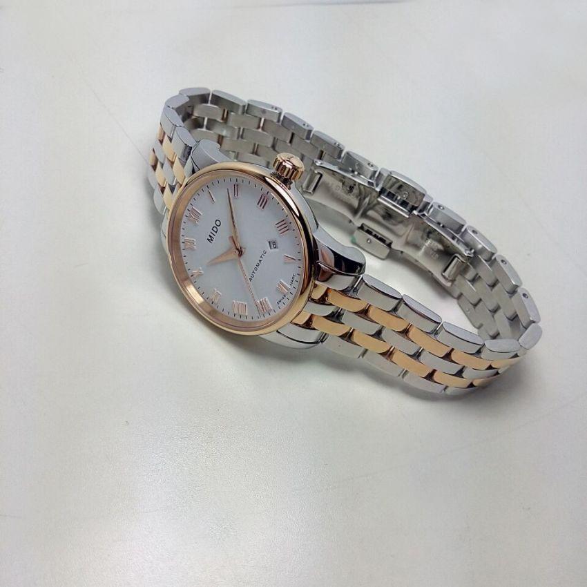 美度M7600.9.N6.1手表【表友晒单作业】白色表盘,...