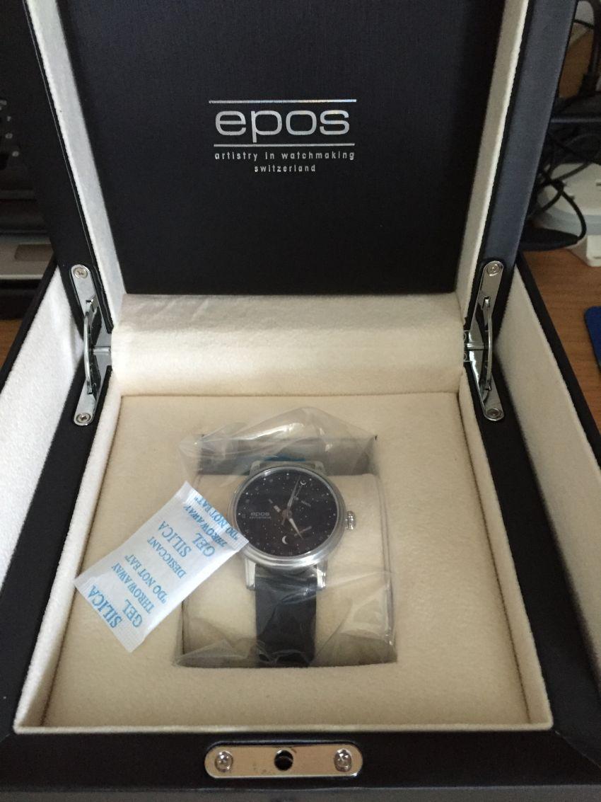 爱宝时3391.832.20.16.25手表【表友晒单作业】EPOS星...