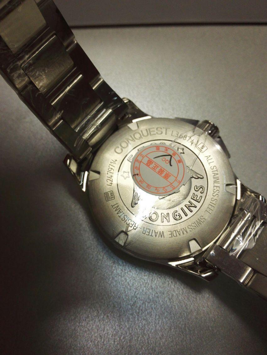 浪琴L3.687.4.76.6手表【表友晒单作业】对这款表还...