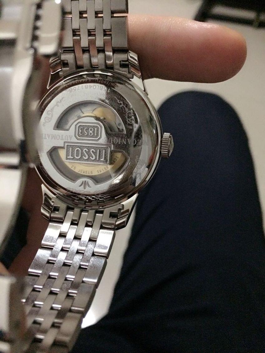 天梭T41.1.483.33手表【表友晒单作业】觉得性价比...