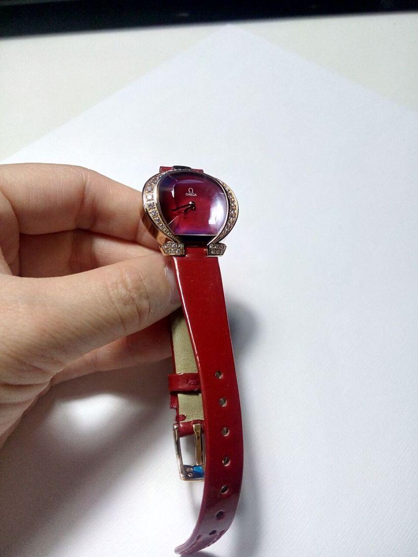 欧米茄5885.73.53手表【表友晒单作业】款色很相对...
