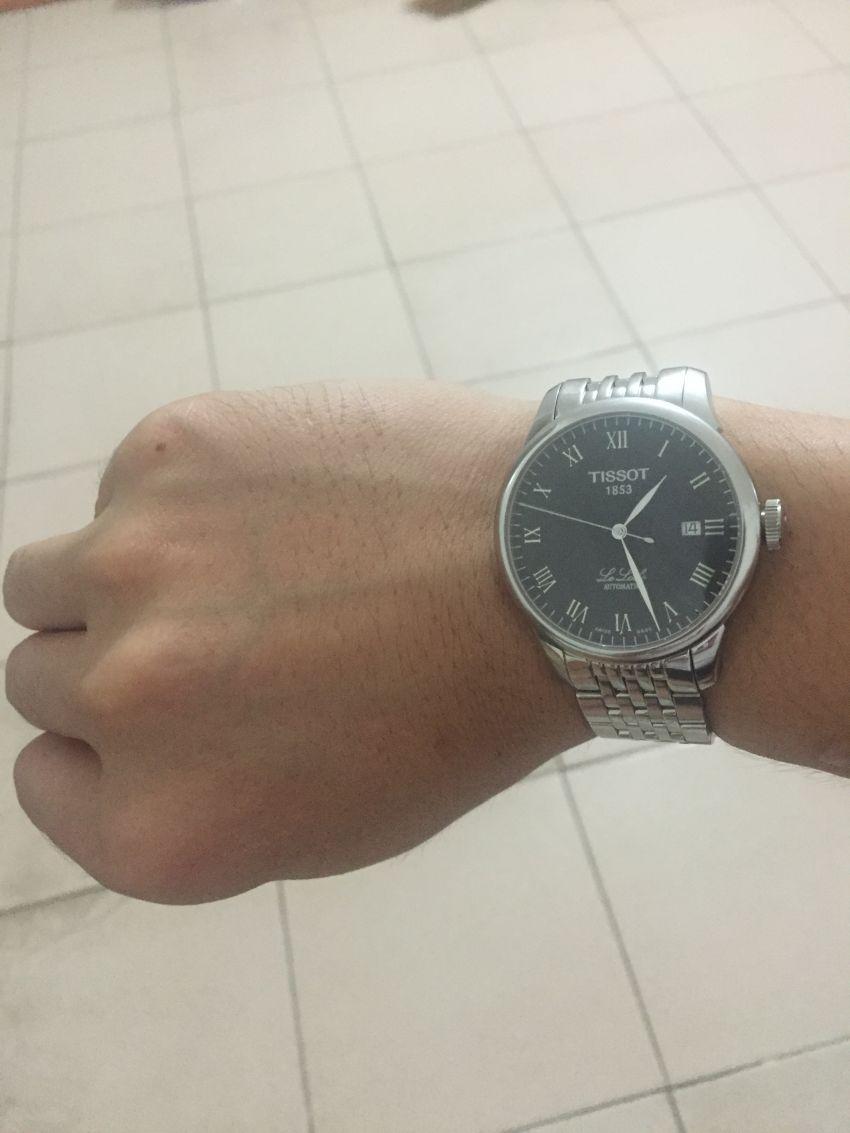 天梭T41.1.483.53手表【表友晒单作业】关注这款天...