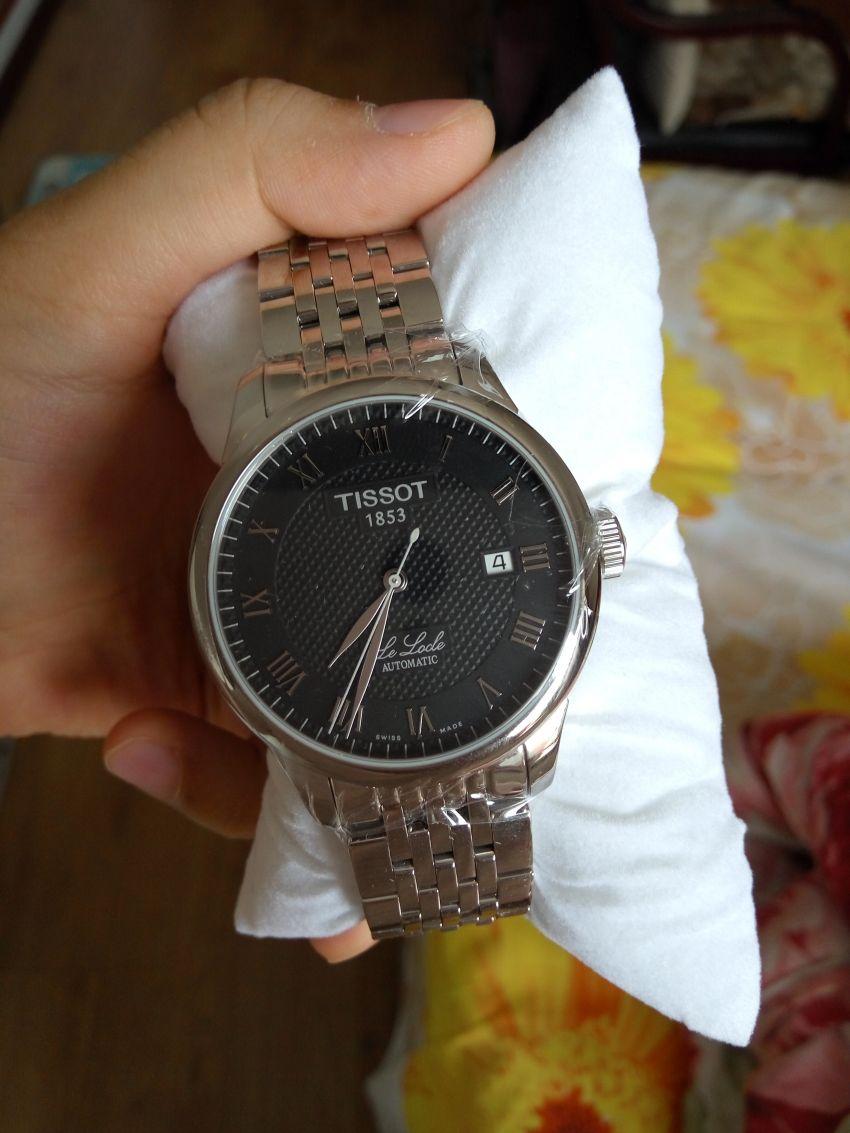 天梭T41.1.483.53手表【表友晒单作业】非常大气,...