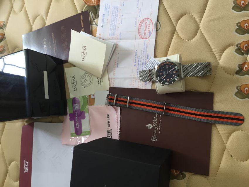 迪沃斯16152060手表【表友晒单作业】很满意,高...