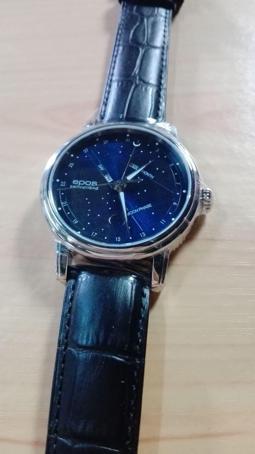 爱宝时3391.832.20.16.25手表【表友晒单作业】表盘蓝色很...
