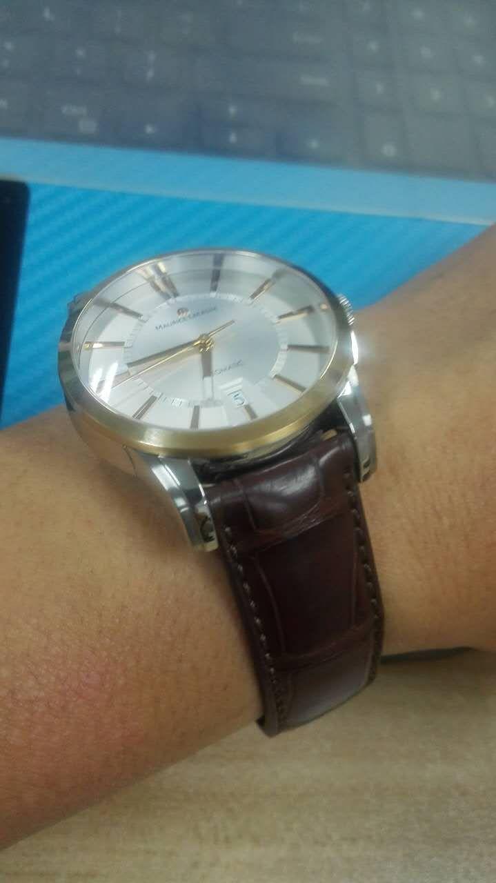 艾美PT6148-PS101-130棕色表带手表【表友晒单作业】手表已收到...