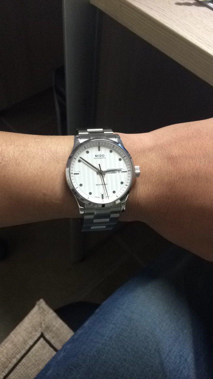 美度M005.830.11.031.00手表【表友晒单作业】表以收到,...