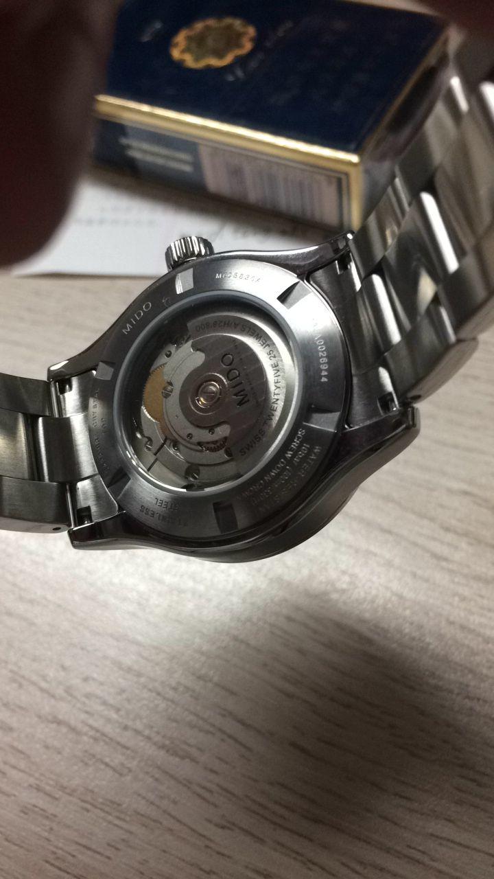 美度M005.830.11.031.00手表【表友晒单作业】表很大气,...