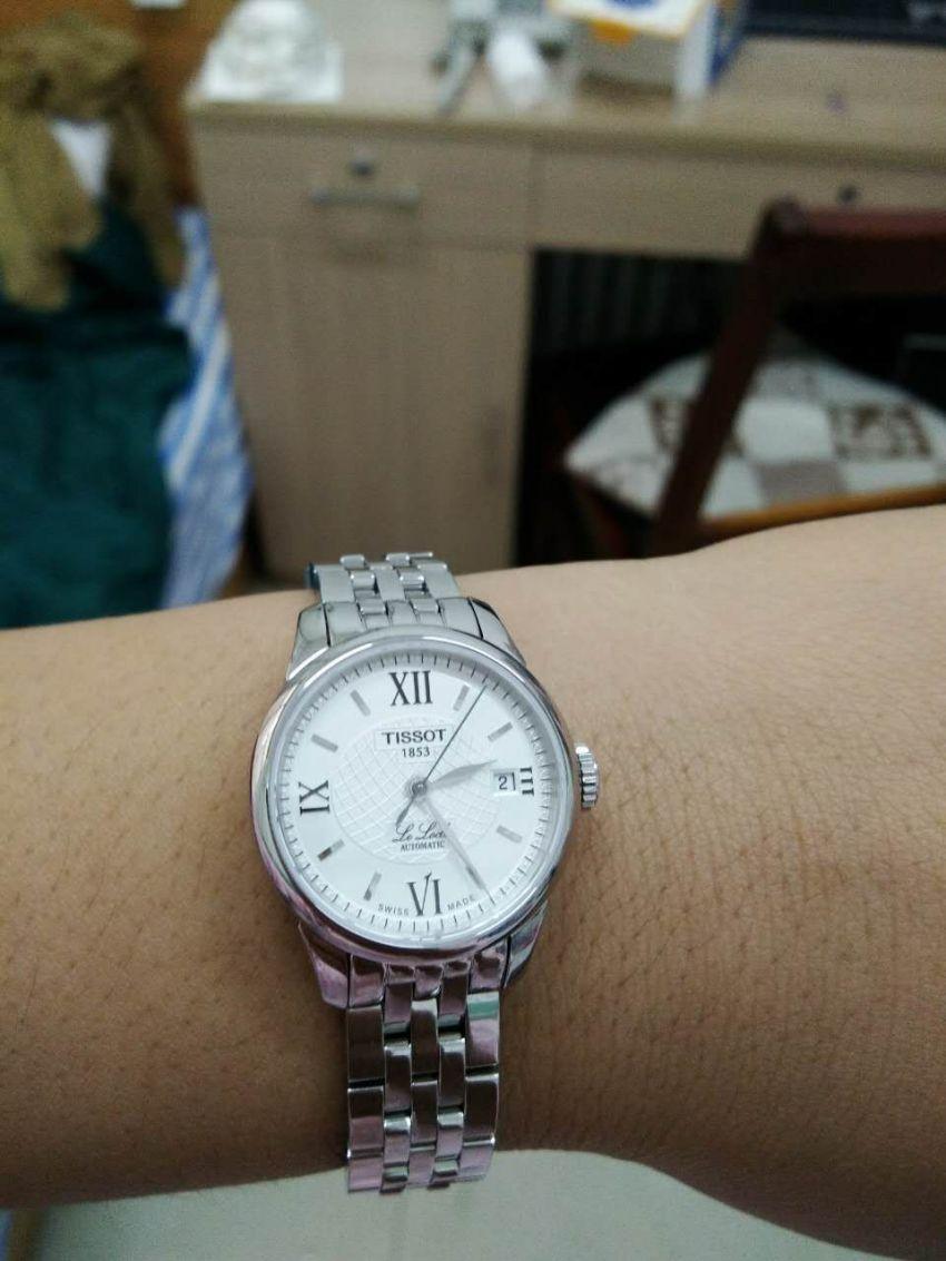 天梭T41.1.183.33手表【表友晒单作业】很好,老婆...